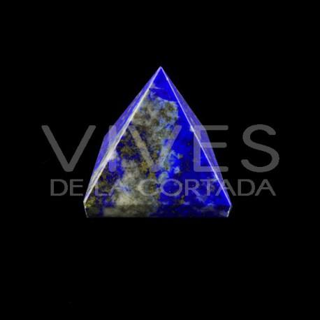 Pirámide de Lapizlázuli 3,5x3,5cm
