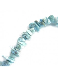 Hilo de Larimar Chip 5x10mm