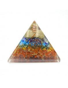 Pirámide de Orgonita 8x8cm