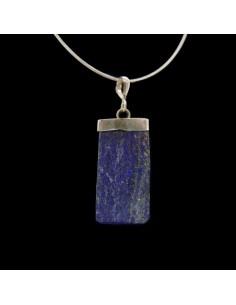 Colgante de Lapislázuli Semipulido - Plata de Ley 925
