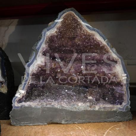 Geoda de Amatista Brasil Calidad Ex R72